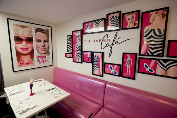 The Barbie Cafe offers all sorts of Barbie-themed candies and meals