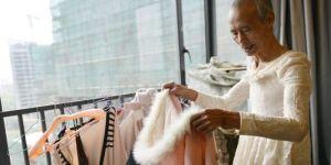 Liu Xianping égérie Yecco à 72 ans