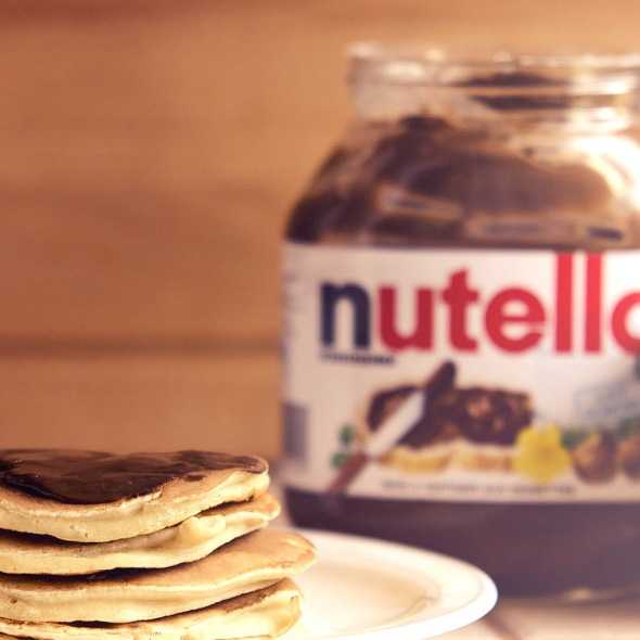 nutella start the day