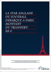 Eurostar ad for David Beckham transfer