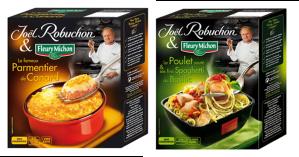 joel robuchon fleury michon parmentier de canard et poulet spaghetti