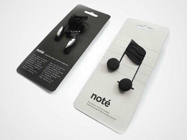Packaging créatif Noté pour écouteurs