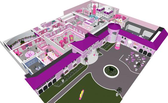 Du marketing exp rientiel pour voir la vie en rose trend n 39 com - Plan de maison de barbie ...