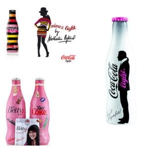 les packagings créatifs par Coca Cola