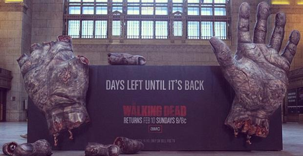 walking dead street marketing