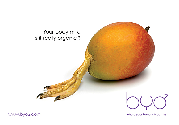 Byo's Ad for Body Milk