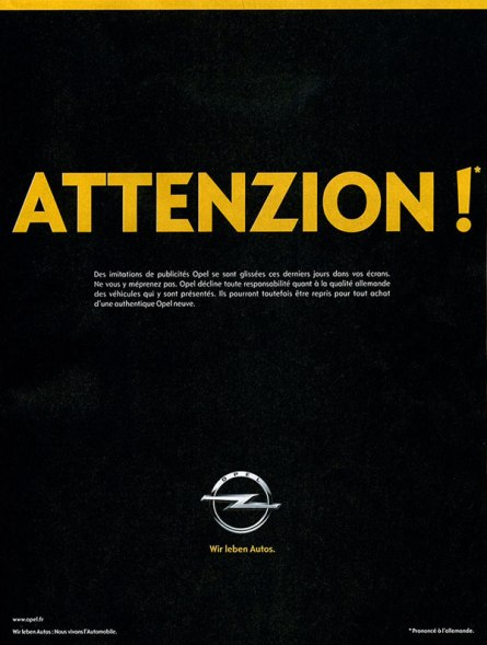 Attenzion-Opel