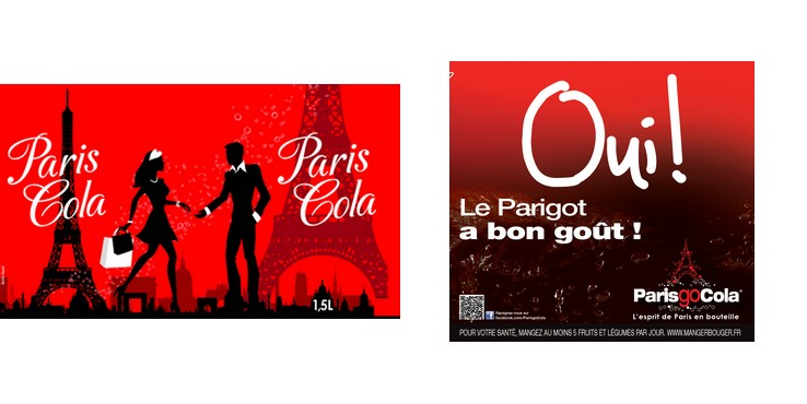 Paris Cola VS Parisgo Cola