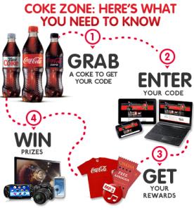 4 étapes faciles, pour intégrer la Coke Zone