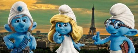 smurfs schtroumpfs tour eiffel film journée mondiale