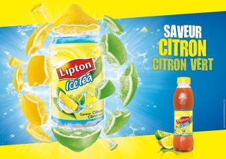 lipton ice tea saveur citron citron vert