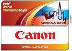 canon iaaf world athletics championship 2013 official partner