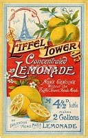 Eiffel Tower Concentrated Lemonade