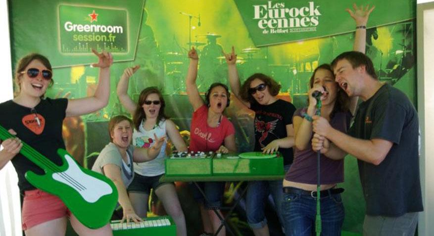 green_room_session Heineken