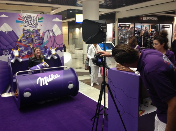 Milka-Grand-Snax Street marketing