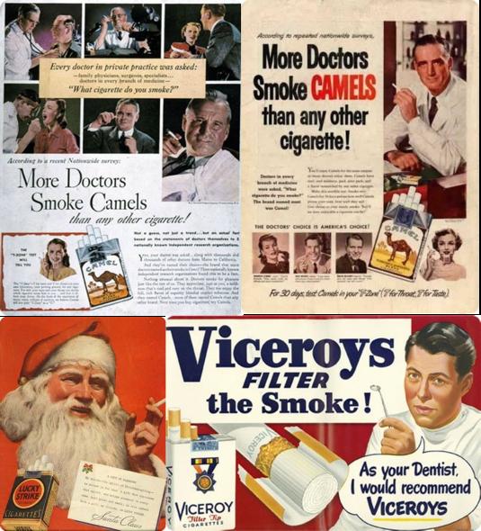 Publicités Tabac