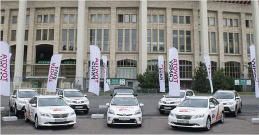 Toyota championnats du monde athlétisme 2013