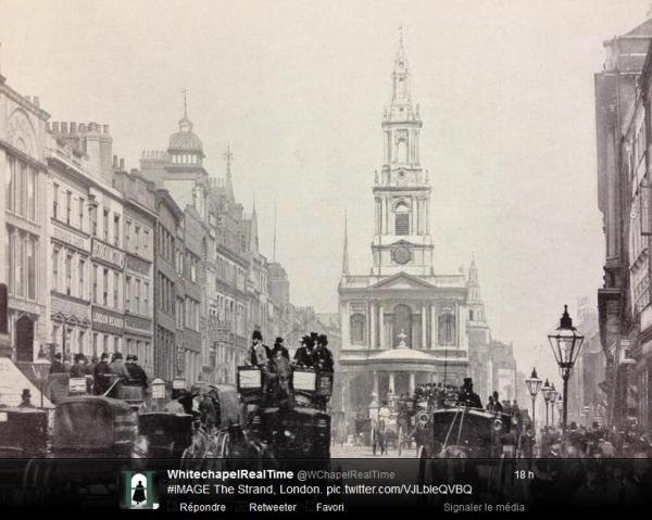The strand London Victorian