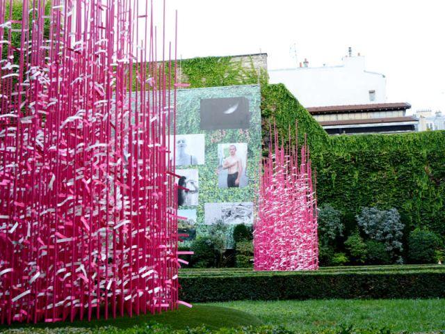 Jardins d'Espoir octobre rose cancer sein