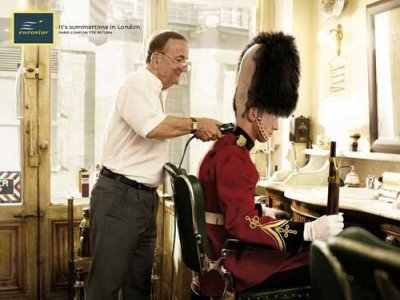 eurostard royal guard england campaign advert