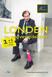 eurostar humour campaign funny london