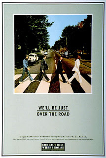 abbey road beatles advertising campaign england