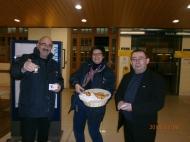 Petit-déjeuner offert aux voyageurs à Saint Quentin
