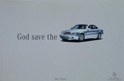 queen god save car campaign advertising