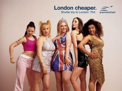 spice girl advertising campaign england