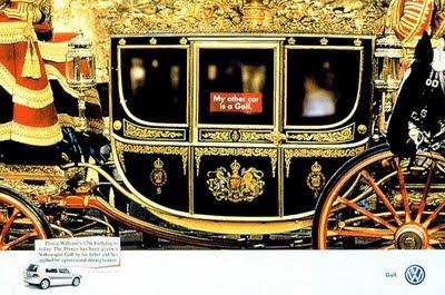carosse queen england golf volkswagen