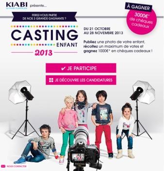 casting 2013 kiabi