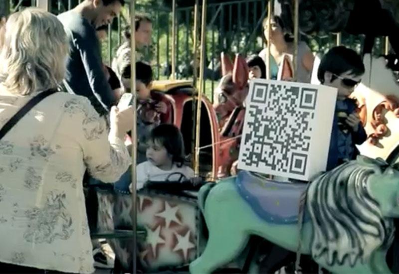 qr-code campaign lost children