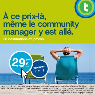 transavia  community manager