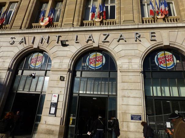 burger king saint-lazare facade