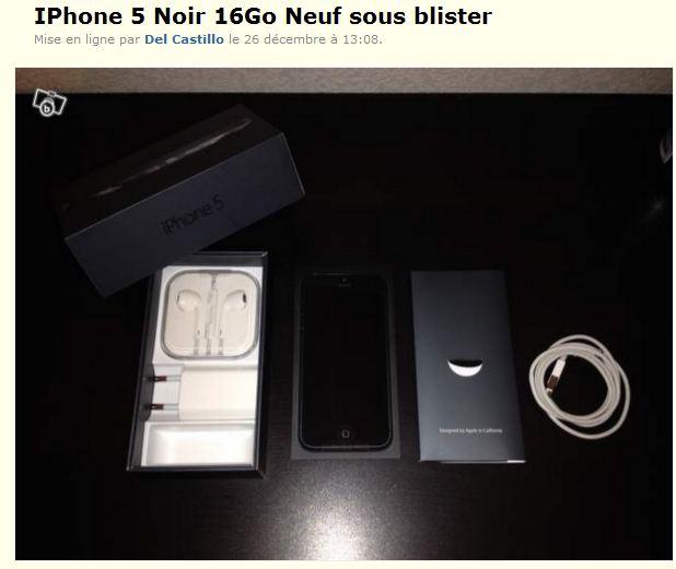 iphone noir