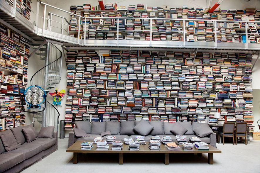 livres salon bibliothèque