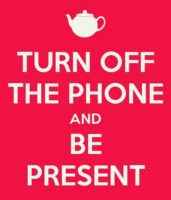 turn off the phone digital detox