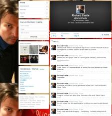 castle twitter account