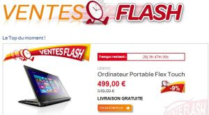 vente flash carrefour