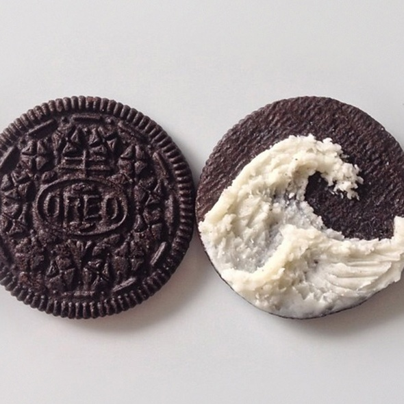 oreo eat the tweet