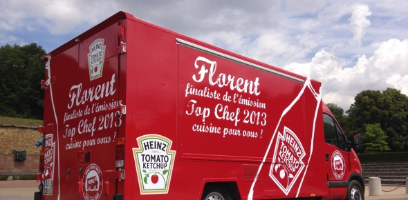 call the chef heinz food truck