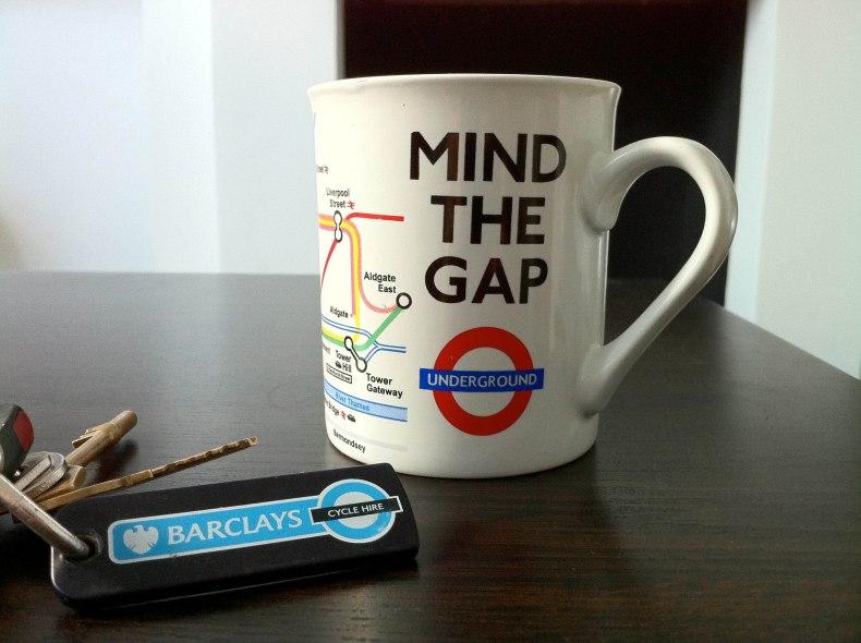 mind the gap TFL tube
