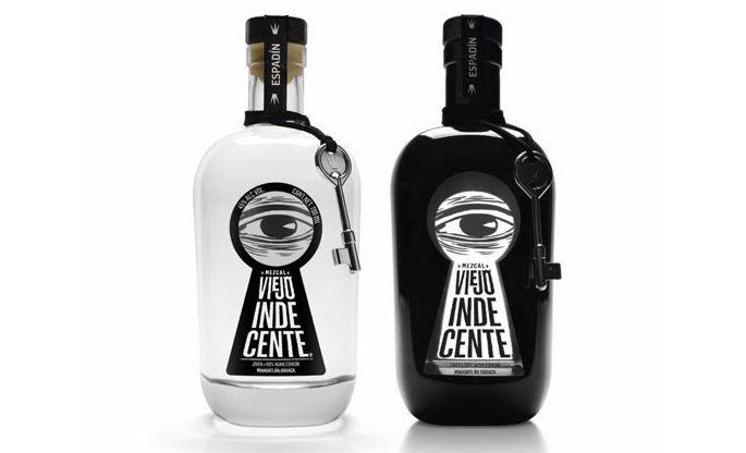 packaging bouteille coloré  sérurre secret
