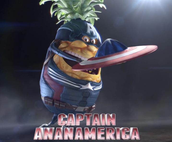 oasis captain america ananamerica super héros