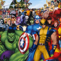 L'invasion des super-héros... dans la pub