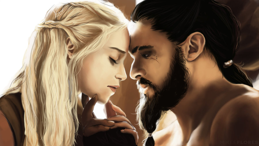 the_khal_and_the_khaleesi_by_mkflrs-d5neznx