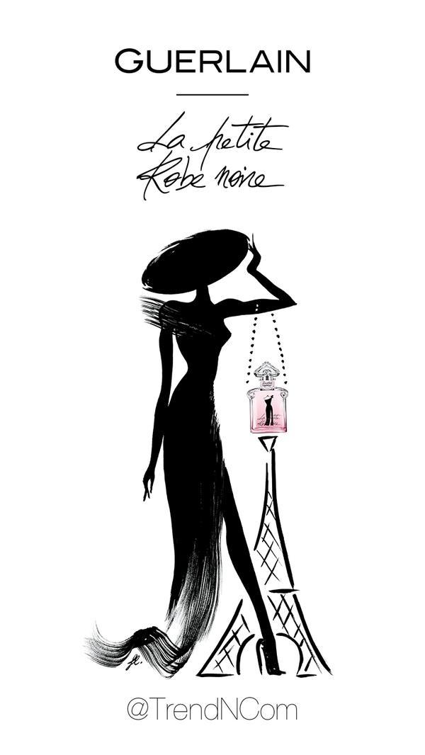 Guerlain la petite robe noire analyse