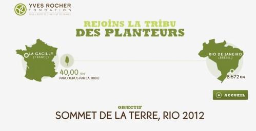 yves rocher développement durable planter arbres