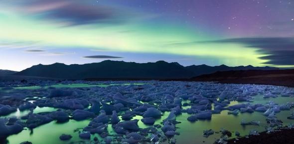 aurore boréale iceland Moyan Brenn