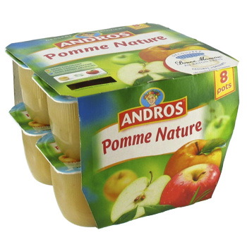 Andros pomme nature